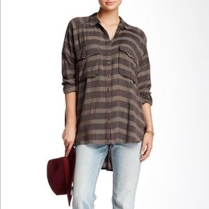 Free People Button Down  Small